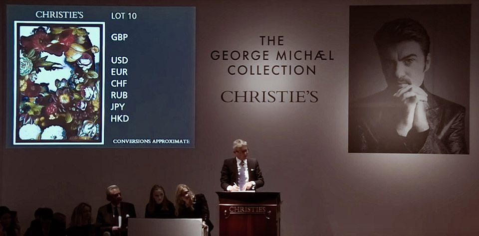 George Michael's private art collection raised more than £11